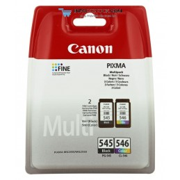 TINTA CANON PG545 CL546 PACK2 NEGRO COLOR Canon 8287B005