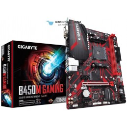 PLACA BASE GIGABYTE B450M GAMING AM4 MATX 2XDDR4 Gigabyte B450M GAMING