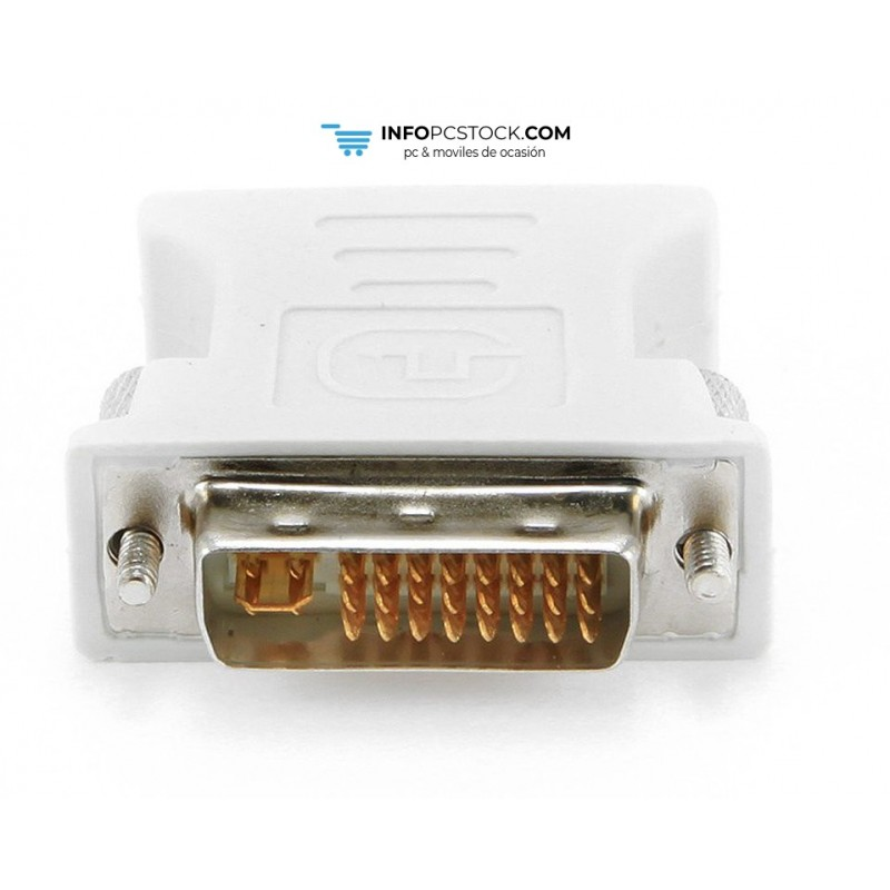 ADAPTADOR GEMBIRD DVI 24+5 MACHO A VGA HEMBRA Gembird A-DVI-VGA