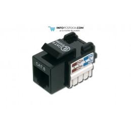 CONECTOR DIGITUS CAT6 SIN APANTALLAR RJ45 A LSA NEGRO ASSMANN Electronic DN-93601