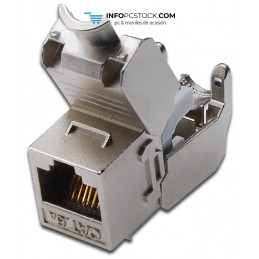CONECTOR DIGITUS AUDIO KEYSTONE CAT6A APANTALLADO REINSCRUSTRADO 500MHZ ASSMANN Electronic DN-93615