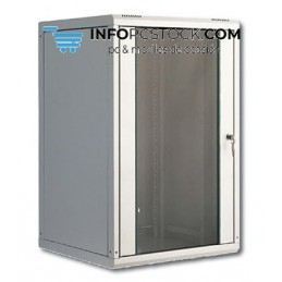 CAJA MURAL DIGITUS 20U 998X600X600 GRIS ASSMANN Electronic DN-19 20U-6/6
