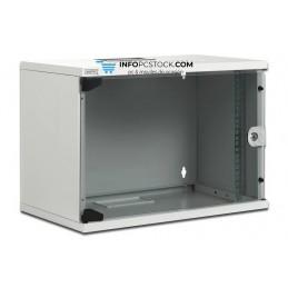 CAJA MURAL DIGITUS 9U 460X540X400 PTA. CRISTAL GRIS ASSMANN Electronic DN-19 09-U-S-1
