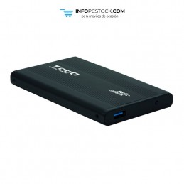 """CAJA EXTERNA TOOQ TQE-2524B 2,5\\"""" 9,5 MM SATA USB 3.0 NEGRA TooQ TQE-2524B"""