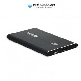 """CAJA EXTERNA TOOQ TQE-2529B 2,5\\"""" 7 MM SATA USB 3.0 UASP NEGRA TooQ TQE-2529B"""
