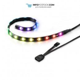 TIRA RGB LED SHARKOON SHARK BLADES 360MMX10MMX3MM 18 LEDS LONGITUD CABLE 60CM Sharkoon 4044951026883