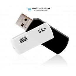 USB 2.0 GOODRAM 64GB UCO2 NEGRO BLANCO Goodram UCO2-0640KWR11