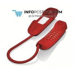 TELEFONO FIJO GIGASET DA210 ROJO Gigaset S30054-S6527-R103