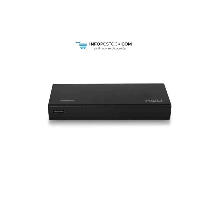 CARGADOR PORTATIL UNIVERSAL NOX 90W USB NOX NXPWR90NB