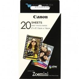 PAPEL CANON ZINK PAPER ZP-2030 20 SHEETS EXP HB Canon 3214C002