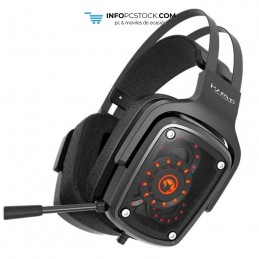AURICULARES GAMING SCORPION HG9046 7.1 REAL CON LUZ LED Scorpion MA-HG9046