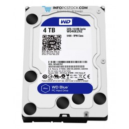DISCO WD BLUE 4TB SATA6 64MB Western Digital WD40EZRZ