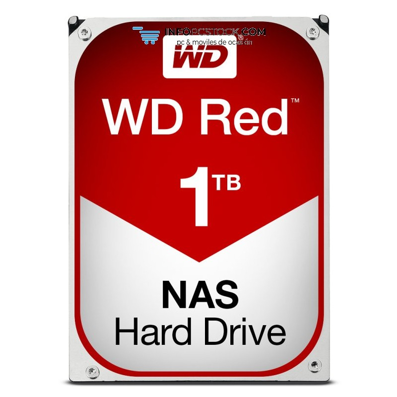 DISCO WD RED 1TB SATA3 64MB Western Digital WD10EFRX