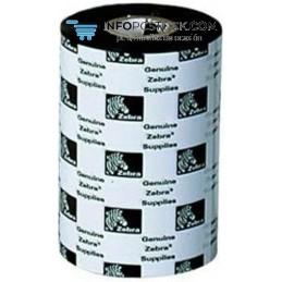 RIBBON ZEBRA RESINA 64MMX 74 METRIS (CAJA 12 ROLLOS) Zebra 05095GS06407