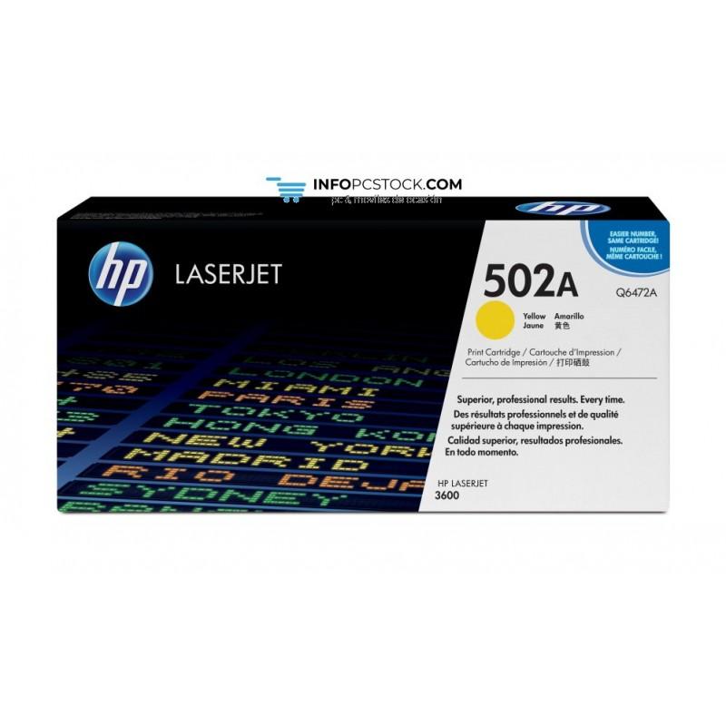 TONERHP502AAMARILLO4000PAG HP Q6472A