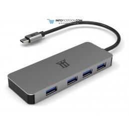 HUB MAILLON PREMIUM TIPO C 3.1 TO HDMI 4K ALUMINIO 4.1 Maillon Technologique MTHUB4