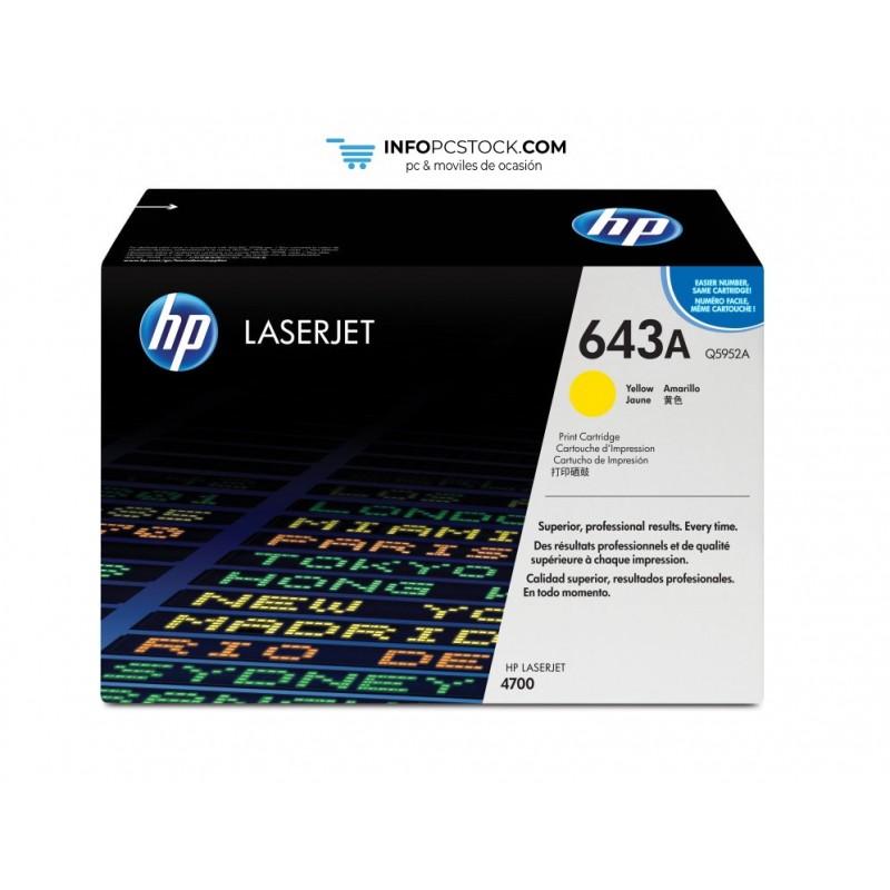 TONERHP643AAMARILLO10000PAG HP Q5952A