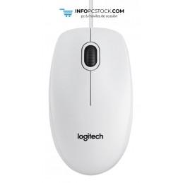 RATON LOGITECH B100 USB BLANCO Logitech 910-003360