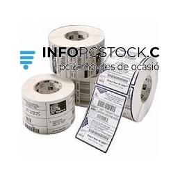 ETIQUETAS ZEBRA TERMICAS 76X51MM 1370 ETIQ/ROLLO CAJA 12 ROLLOS Zebra 800273-205