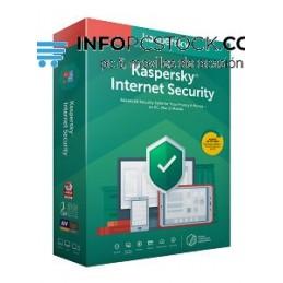 ANTIVIRUS KASPERSKY KIS 2020 INTERNET SECURITY 3 LICENCIAS 1 AÑO Kaspersky Lab KL1939S5CFS-20