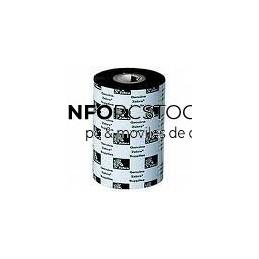 RIBBON ZEBRA CERA 110 X 450 METROS (CAJA 12 ROLLOS) Zebra 02100BK11045