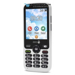 "TELEFONO MOVIL SENIOR DORO 7010 2,8\"" 512MB 4GB BLANCO T3MPX Doro 7753"