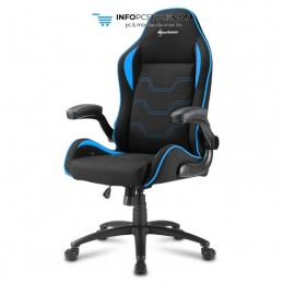 SILLA GAMING SHARKOON ELBRUS 1 NEGRO AZUL 160G Sharkoon 4044951027620