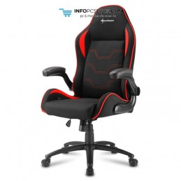 SILLA GAMING SHARKOON ELBRUS 1 NEGRO ROJO 160G Sharkoon 4044951027637