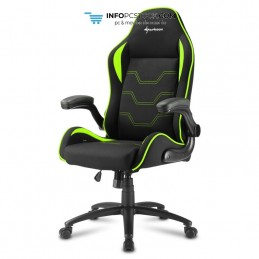SILLA GAMING SHARKOON ELBRUS 1 NEGRO VERDE 160G Sharkoon 4044951027644