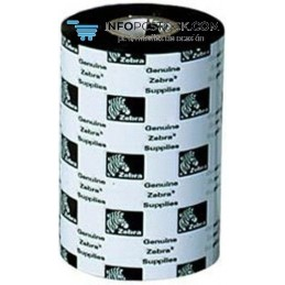 RIBBON ZEBRA RESINA 110MMX 74 METRIS (CAJA 12 ROLLOS) Zebra 05095GS11007