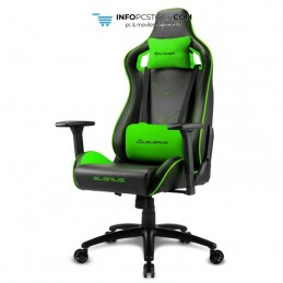 SILLA GAMING SHARKOON ELBRUS 2 NEGRO VERDE 160G Sharkoon 4044951027682