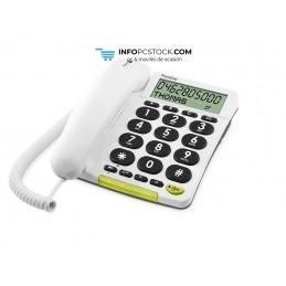 TELEFONO FIJO DORO PHONE EASY 312CS 1 BLANCO Doro 5641
