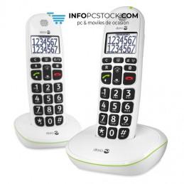 TELEFONO FIJO DORO PHONE EASY 110 2 INALÁMBRICO BLANCO Doro 5955