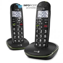 TELEFONO FIJO DORO PHONE EASY 110 2 INALÁMBRICO NEGRO Doro 6219