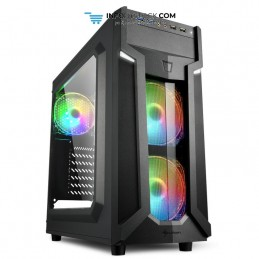 CAJA ATX SHARKOON VG6-W RGB 2XUSB3.0 SIN FUENTE Sharkoon 4044951026814