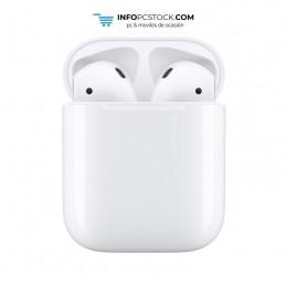 AURICULARES APPLE AIRPODS V2 BLANCO BLUETOOTH CON BASE CARGA Apple MV7N2ZM/A