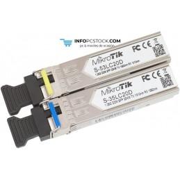 KIT SFP MIKROTIK S-3553LC20D Mikrotik S-3553LC20D