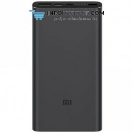 POWERBANK XIAOMI MI 18W FAST CHARGE POWER BANK 3 10000MAH BLACK Xiaomi VXN4274GL
