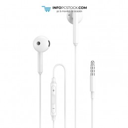 AURICULARES ENJOY BLANCO JACK 35 MM CABLE 1M CON CONTROL DE VOLUMEN hOme YEP-02