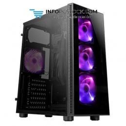 CAJA GAMING ANTEC NX210 ATX 2XUSB2.0 1XUSB3.0 SIN FUENTE NEGRO ARGB Antec 0-761345-81020-3