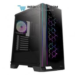 CAJA GAMING ANTEC NX600 ATX 2XUSB2.0 1XUSB3.0 SIN FUENTE NEGRO ARGB Antec 0-761345-81060-9