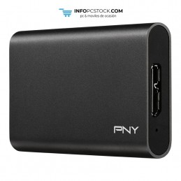 SSD EXT PNY CS1050 240GB USB 3.0 PNY PSD1CS1050-240-FFS