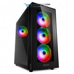 CAJA SHARKOON TG5 PRO ATX 2XUSB3.0 2XUSB2.0 SIN FUENTE RGB Sharkoon 4044951029105