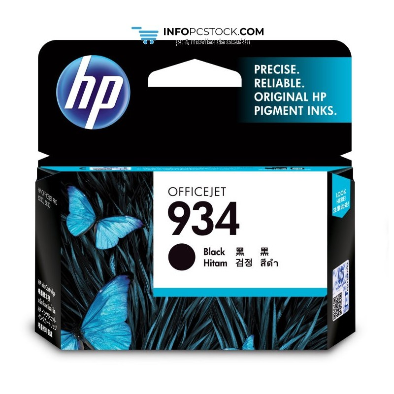 TINTAHP934NEGRO HP C2P19AE