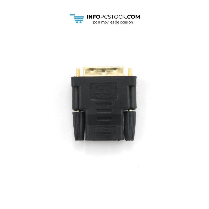 ADAPTADOR GEMBIRD HDMI HEMBRA A DVI MACHO Gembird A-HDMI-DVI-2