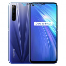 SMARTPHONE REALME 6 4GB 128GB DS COMET BLUE realme RMX2001BLUE4GB