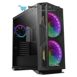 CAJA GAMING ANTEC NX800 EATX 2XUSB2.0 1XUSB3.0 SIN FUENTE NEG RGB Antec 0-761345-81080-7