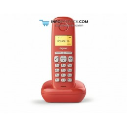 TELEFONO FIJO GIGASET A170 INALAMBRICO ROJO Gigaset S30852-H2802-D206