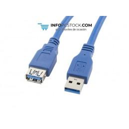 CABLE ALARGADOR LANBERG USB 3.0 MACHO HEMBRA 1.8M AZUL Lanberg CA-US3E-10CC-0018-B