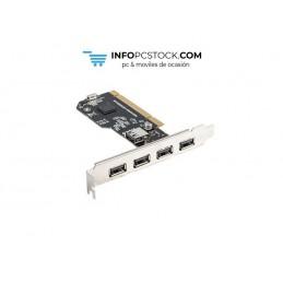 TARJETA PCI LANBERG 4X USB2.0 EXTERNOS + 1X USB2.0 INTERNO Lanberg PCI-US2-005